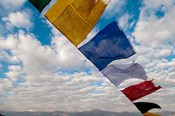 Prayer flags, Leh, Ladakh, India