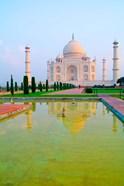 Taj Mahal Temple at Sunrise, Agra, India