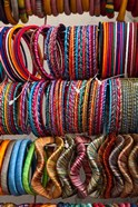 Bracelets, Pushkar, Rajasthan, India.
