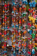 Colorful souvenirs, Pushkar, Rajasthan, India.