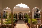 Hotel Kiran Villa Palace, Bharatpur, Rajasthan, India.