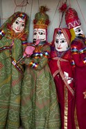 Kathputli, traditional Rajasthani puppets, Pushkar, Rajasthan, India