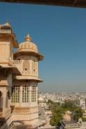 Turret, City Palace, Udaipur, Rajasthan, India
