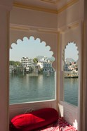 View from a restaurant, Udaipur, Rajasthan, India