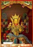 Statue in Thikese Monastery, Ladakh, India