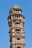 Victoria Tower in Chittorgarh Fort, Rajasthan, India