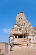 Jain Temple in Chittorgarh Fort, Rajasthan, India