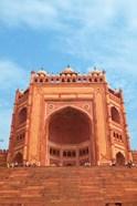 Gate, Jami Masjid Mosque, Fatehpur Sikri, Agra, India