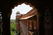 Architecture of Agra Fort, India