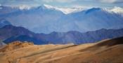 Landscape of the Himalayas, Taglangla Pass, Ladakh, India
