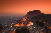 Meherangarh Fort and Town, Rajasthan, India