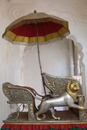 Sedan Chair of the Maharajah, Rajasthan, India