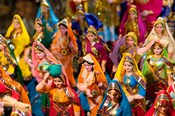Figurines at the Saturday Market, Goa, India