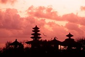 Sunset at the Temple by the Sea, Tenah Lot, Bali, Indonesia