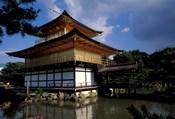 Golden Pavilion, Zen Temple, Kinkakuji, Kyoto, Japan