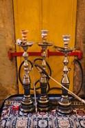Sheesha pipes, Jerusalem, Israel