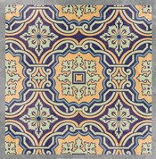 Floral Tile III