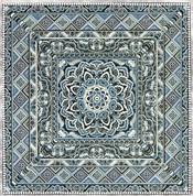 Blue Silver Tile IV