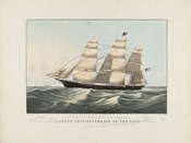 "The Clipper Ship ""Sovereign of the Seas"", 1852"