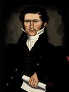 Gentleman of Squire Williams House, ca. 1829