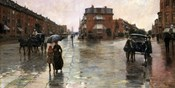 Rainy Day, Boston, 1885