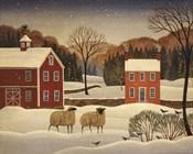 Winter Sheep I