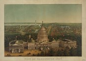 View of Washington City, c. 1869