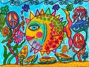 Hippie Puffer Fish