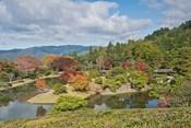 Yokuryuichi Pond, Shugakuin Imperial Villa, Kyoto, Japan