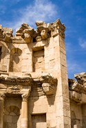 The Nymphaeum, Once the Roman city of Gerasa, Jerash, Jordan