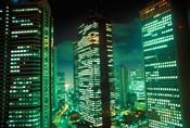 Nightscape, Tokyo, Japan