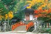 Ryuzenji Temple, Nara, Japan