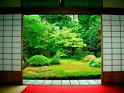 Traditional Architecture and Zen Garden, Kyoto, Japan