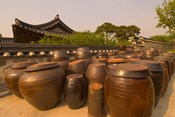 Traditional Korean House, Namsangol Hanok Village, Seoul, South Korea