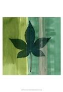 Silver Leaf Tile IV