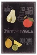 Blackboard Fruit IV