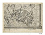 Map of London Grid XVI