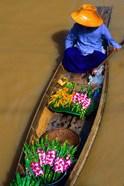 Floating Market at Damnernsaduak near Bangkok Thailand (MR)