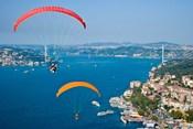 Paragliding, Extreme sport, Bosphorus, Istanbul, Turkey