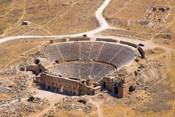 Roman Amphitheater, Ancient Hierapolis, Pamukkale, Turkey