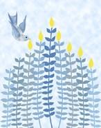 Bird Hanukkah Candles