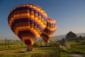 Turkey in Cappadocia and hot air ballooning
