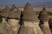 Ash and Basalt Formations, Cappadoccia, Turkey