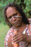 Australia, Queensland, Caims, Aboriginal, Didgeridoo