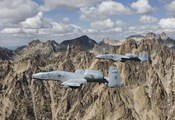 Two A-10 Thunderbolt's in Central Idaho