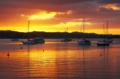 Sunset, Russell, Bay of Islands, Northland, New Zealand
