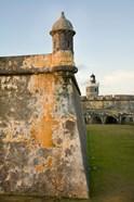 Puerto Rico, Walls and Turrets of El Morro Fort