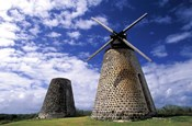 Antigua, Betty's Hope, Suger plant, windmill