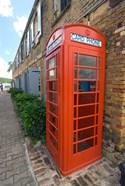 Red Telephone box, Nelson's Dockyard, Antigua