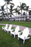 Adirondack Chairs, Ocean Club in Paradise, Atlantis Resort, Bahamas